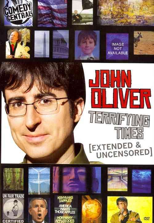 JOHN OLIVER:TERRIFYING TIMES BY OLIVER,JOHN (DVD)